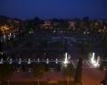 Orosháza megújult főtere éjszaka