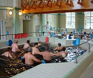 Gyopárosi gyógyfürdő belső medence