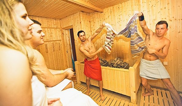 <span class='bovebben'>More</span><span class='title'>Sauna seances again!</span><span class='text'>Spring too chilly? Time for a hot experience: sauna seances in Gyopárosfürdő, up to three times a week.</span>