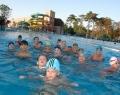 50 méteres, hideg vizű sportmedence a Parkfürdőben
