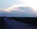 Napnyugta az Alföldön