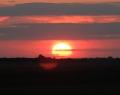 Fehértó: alföldi naplemente