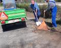 Orosháza-Gyopárosfürdő felújítás áprilisban