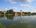 Futás a gyopárosi tó körül