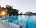 Gyopárosfürdő 50 méteres sportmedence