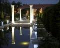 Orosháza főtere este