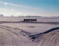Hófödte puszta télen