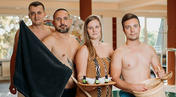 Our sauna masters