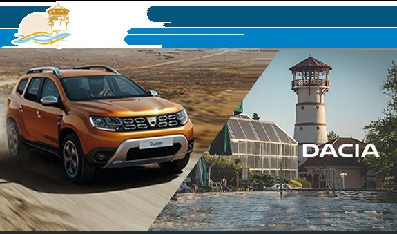 Gyere Gyopárosfürdőre és nyerj egy Dacia Dustert!