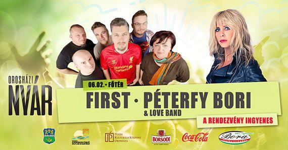 Orosházi nyár 2018 – First és Péterfy Bori koncert