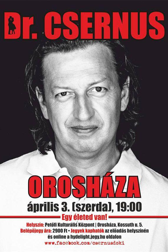 Dr. Csernus Orosháza 2019.04.03.