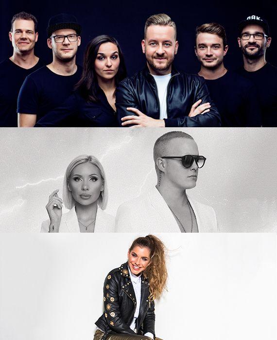 Koncertek a főtéren 2019.07.27: Dér Heni, Rico x Miss Mood, Deniz live