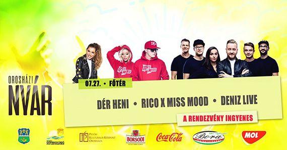 Dér Heni – Rico X Miss Mood – Deniz Live 2019.07.27