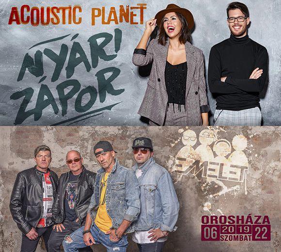 Orosházi Nyár 2019.06.22 – Acoustic Planet és Emelet együttes