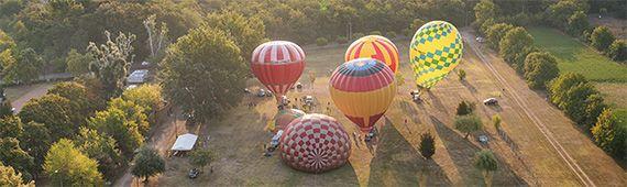 Hőlégballon Fieszta 2019 Orosházán